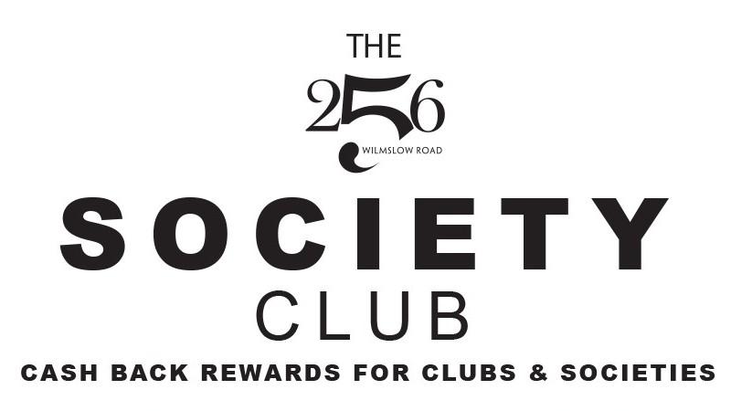 256 society club Banner