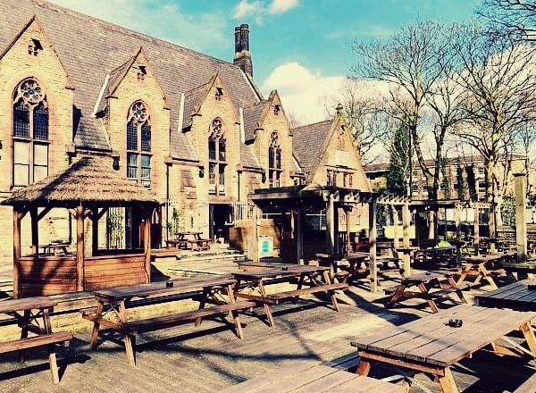 fallowfield beer garden summer
