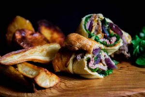 yorkshire pudding roast wrap